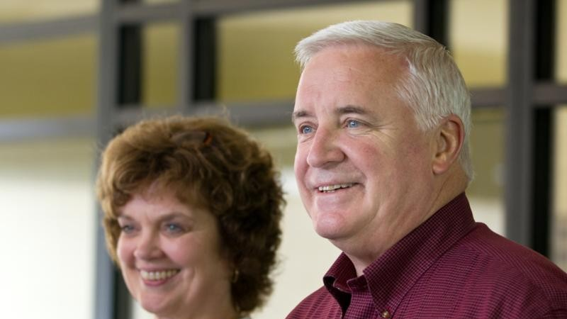 First Lady Susan Corbett and Governor Tom Corbett
