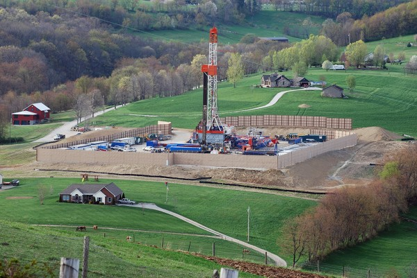 Marcellus Shale Drill Rig