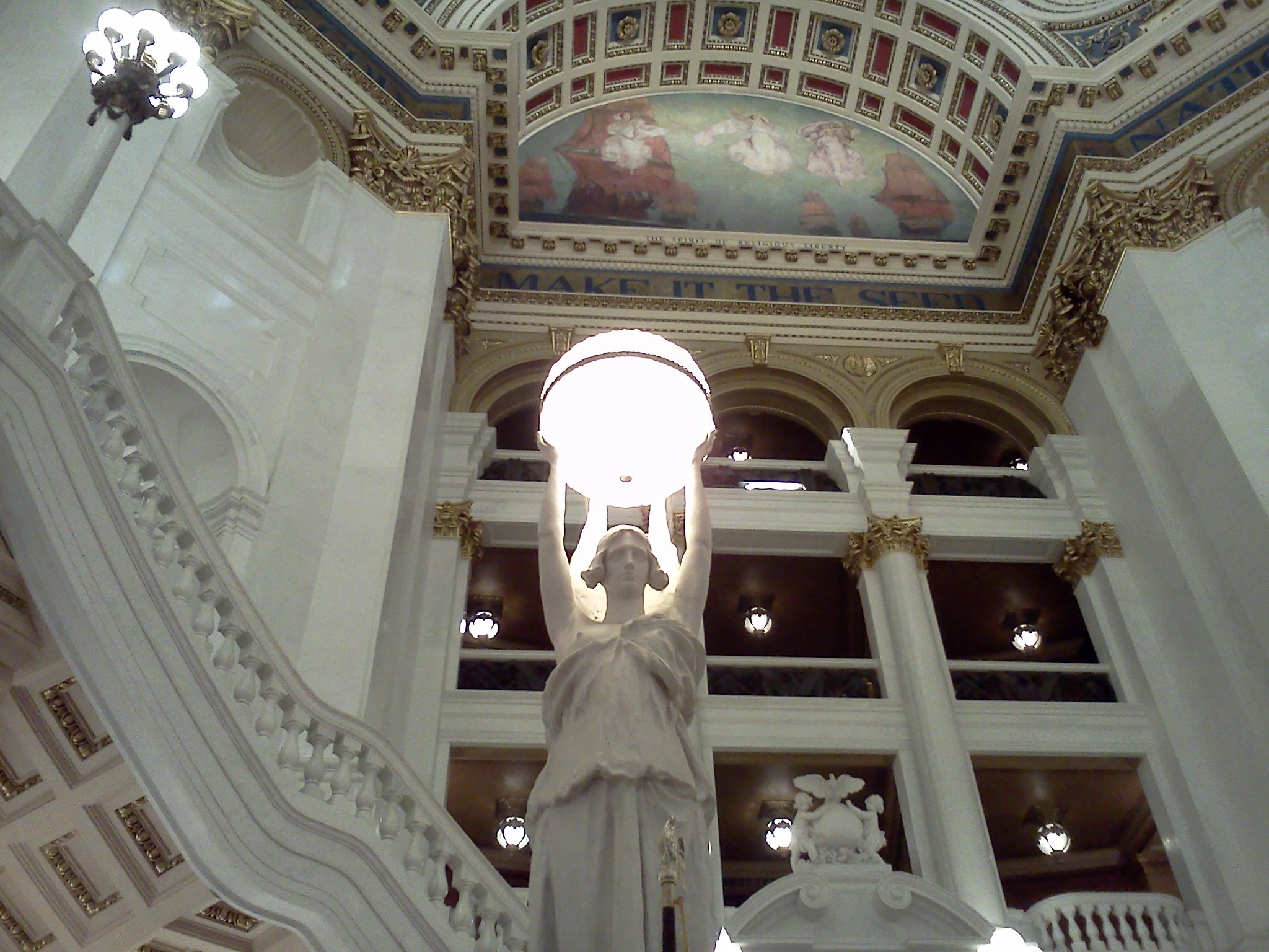 Capitol Rotunda Light Fixture