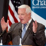 Governor Tom Corbett Addresses Lehigh Valley Chamber of Commerce