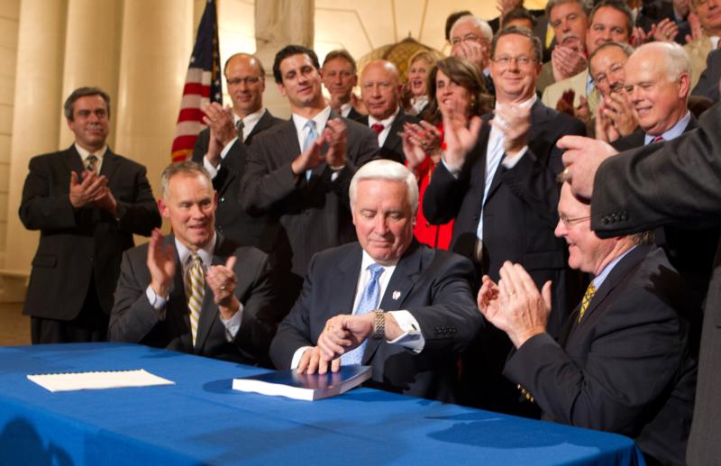 Corbett Signs Budget Ahead of Deadline