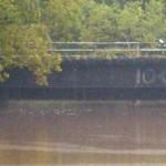 Goldsboro railroad underpass on 9/9.