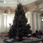 The 22-foot state capitol Christmas tree will be lit on Dec. 6th.