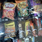 vending machine, junk food, obesity