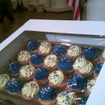 These cupcakes have since been delivered to state lawmakers and key members of the administration.
