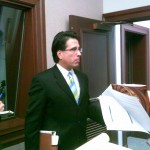 Charles Zogby briefed reporters on the budget just prior to the Governor's speech on Tuesday.