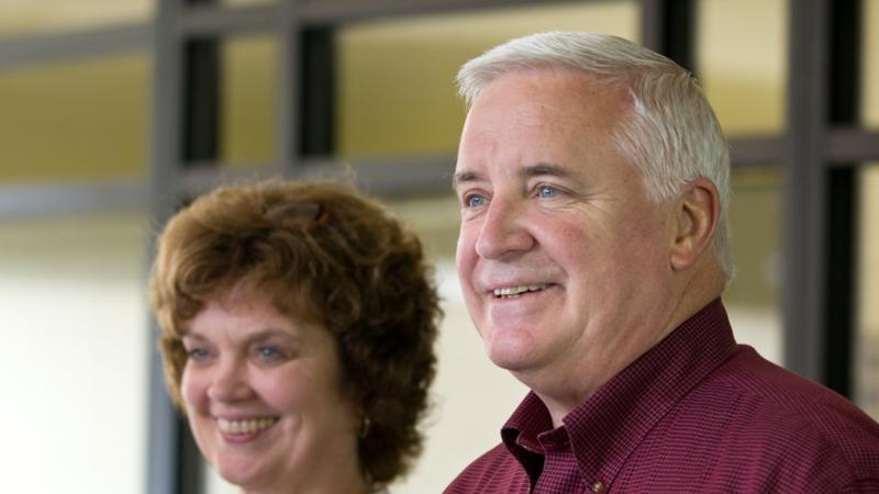 First Lady Susan Corbett and Governor Tom Corbett