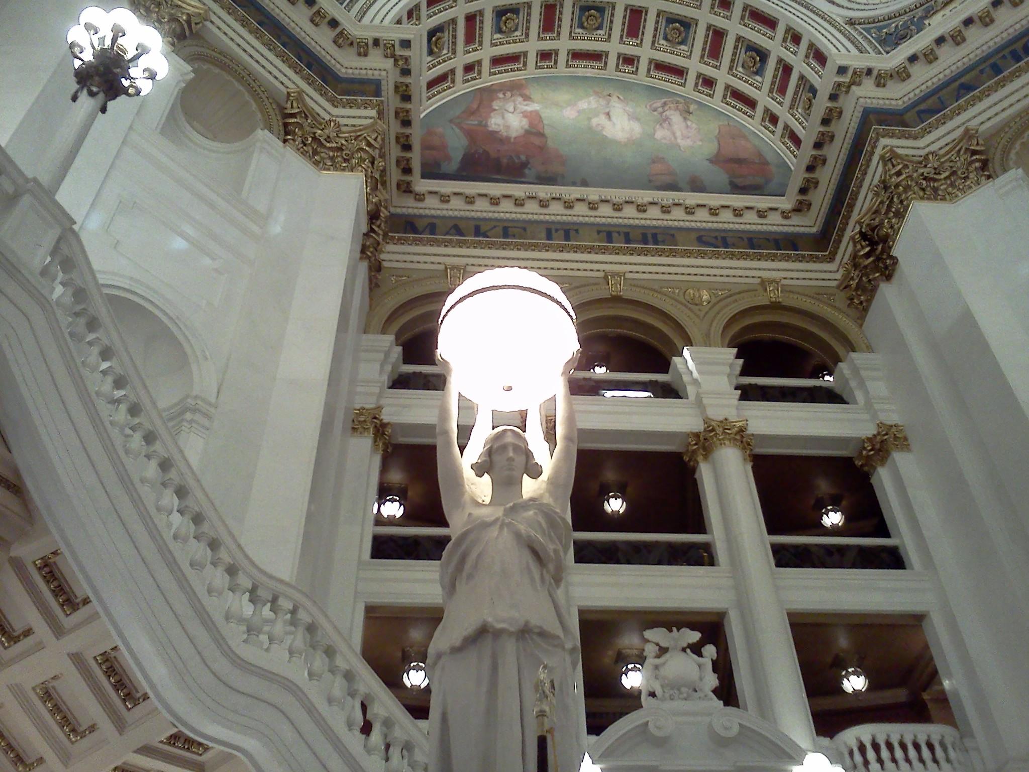 Capitol Rotunda Light Fixture