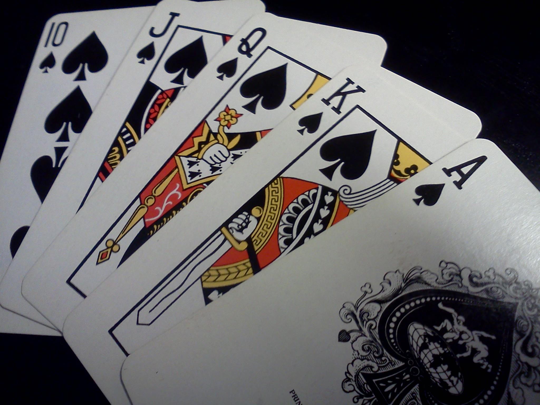Casinos, Cards