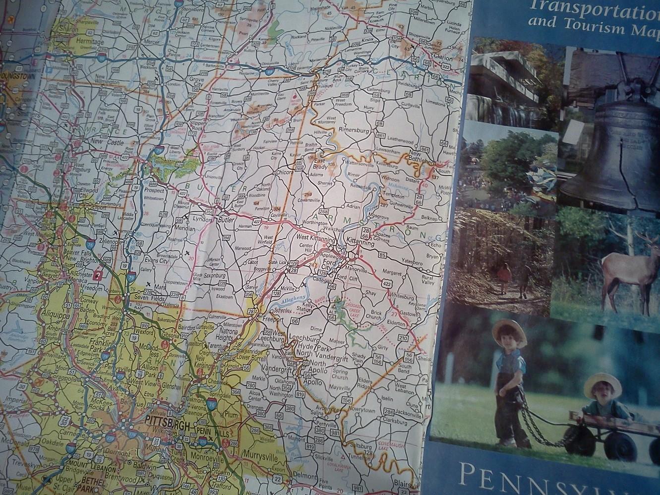 Map, Travel, Tourism, Drive, Interstates