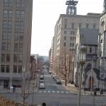 city, downtown, buildings